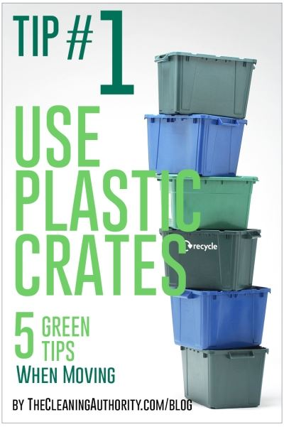 Use Plastic Crates